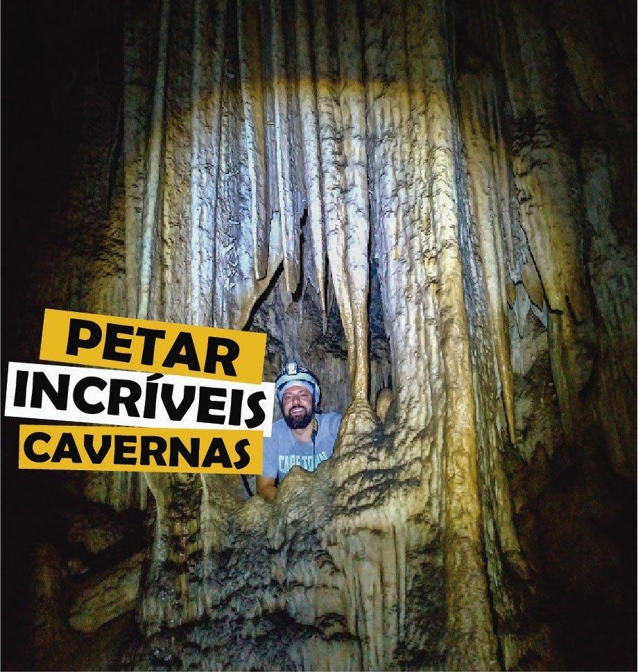 You are currently viewing As cavernas de PETAR (Parque Estadual do Alto do Ribeiro)