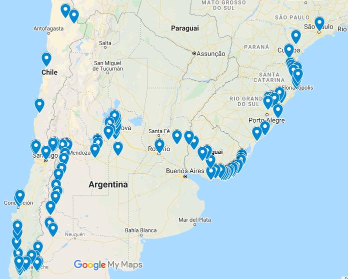Read more about the article Viagem de Moto passando pelo Uruguai, Argentina e Chile