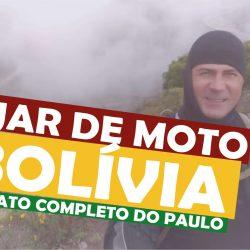 Viajar de moto para a Bolívia