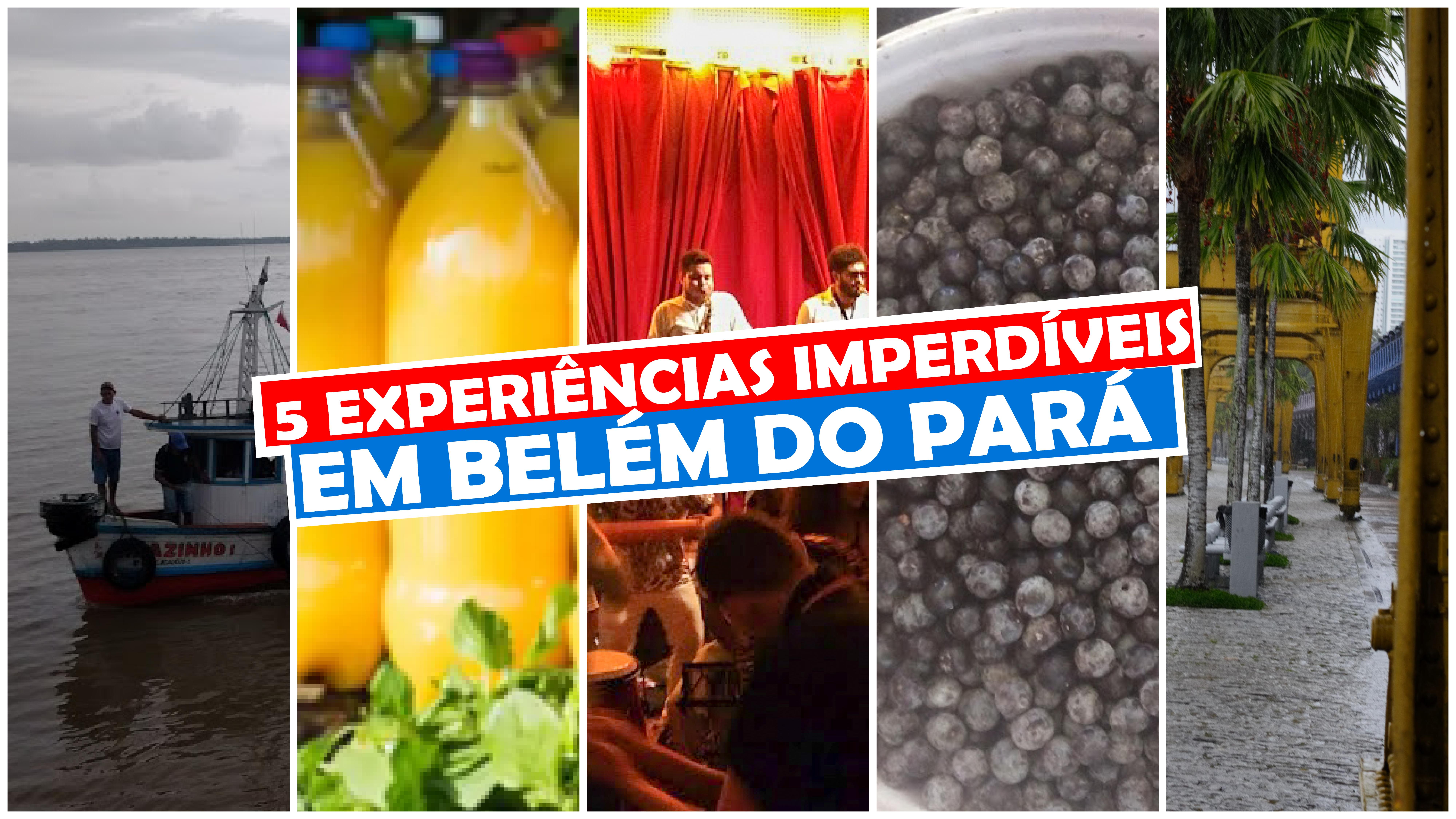 You are currently viewing 5 experiências imperdíveis em Belém do Pará