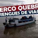 O Barco Quebrou no Meio do Rio - perrengues de viagem