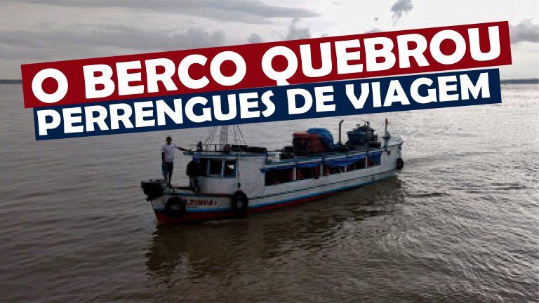 Read more about the article O Barco Quebrou no Meio do Rio perrengues de viagem