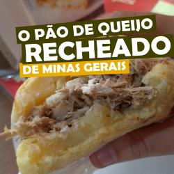 Pão de Queijo recheado de Minas Gerais