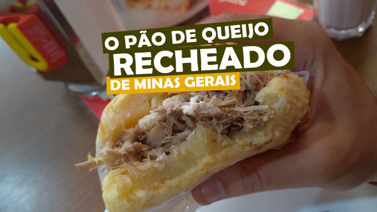 Read more about the article Pão de Queijo recheado de Minas Gerais