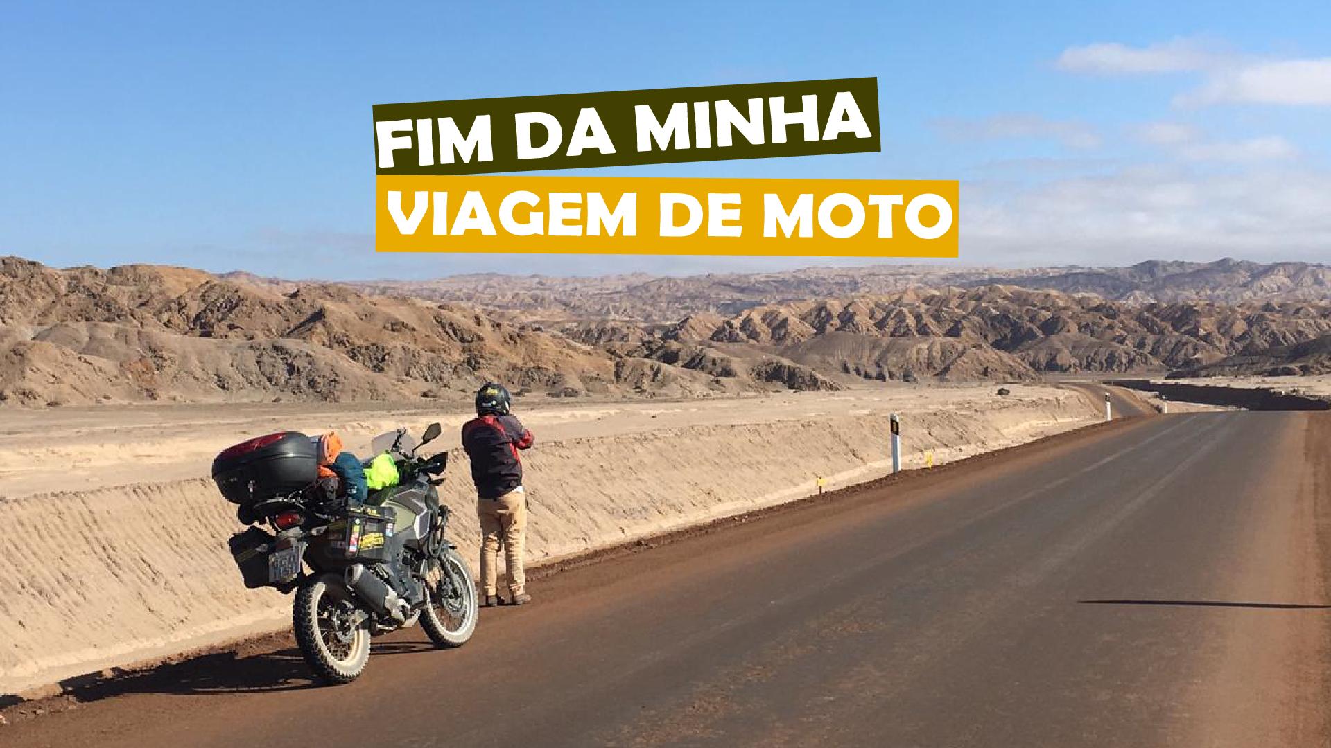 You are currently viewing Fim da minha viagem de moto
