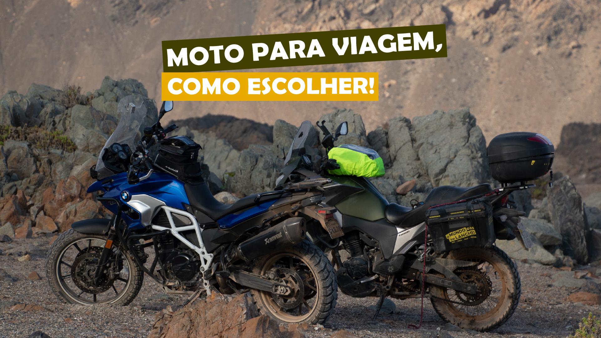 You are currently viewing Moto para viagem, como escolher!