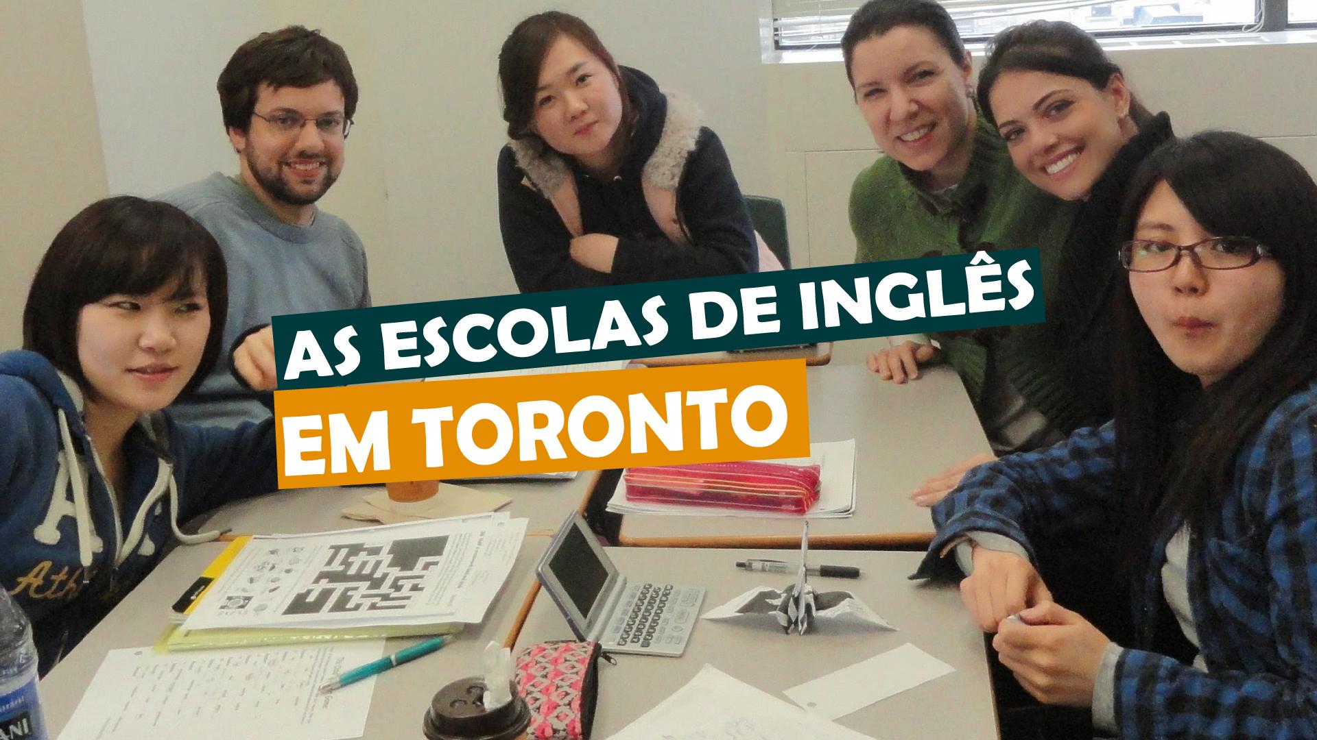 You are currently viewing As escolas de inglês em Toronto