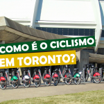 Como é o ciclismo em Toronto
