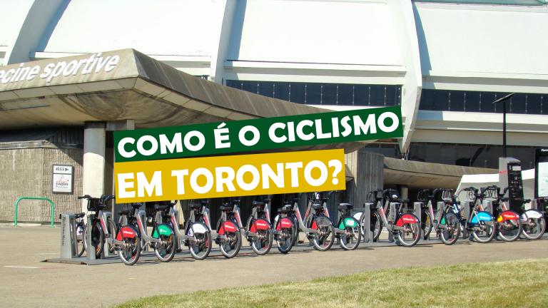 Read more about the article Como é o ciclismo em Toronto