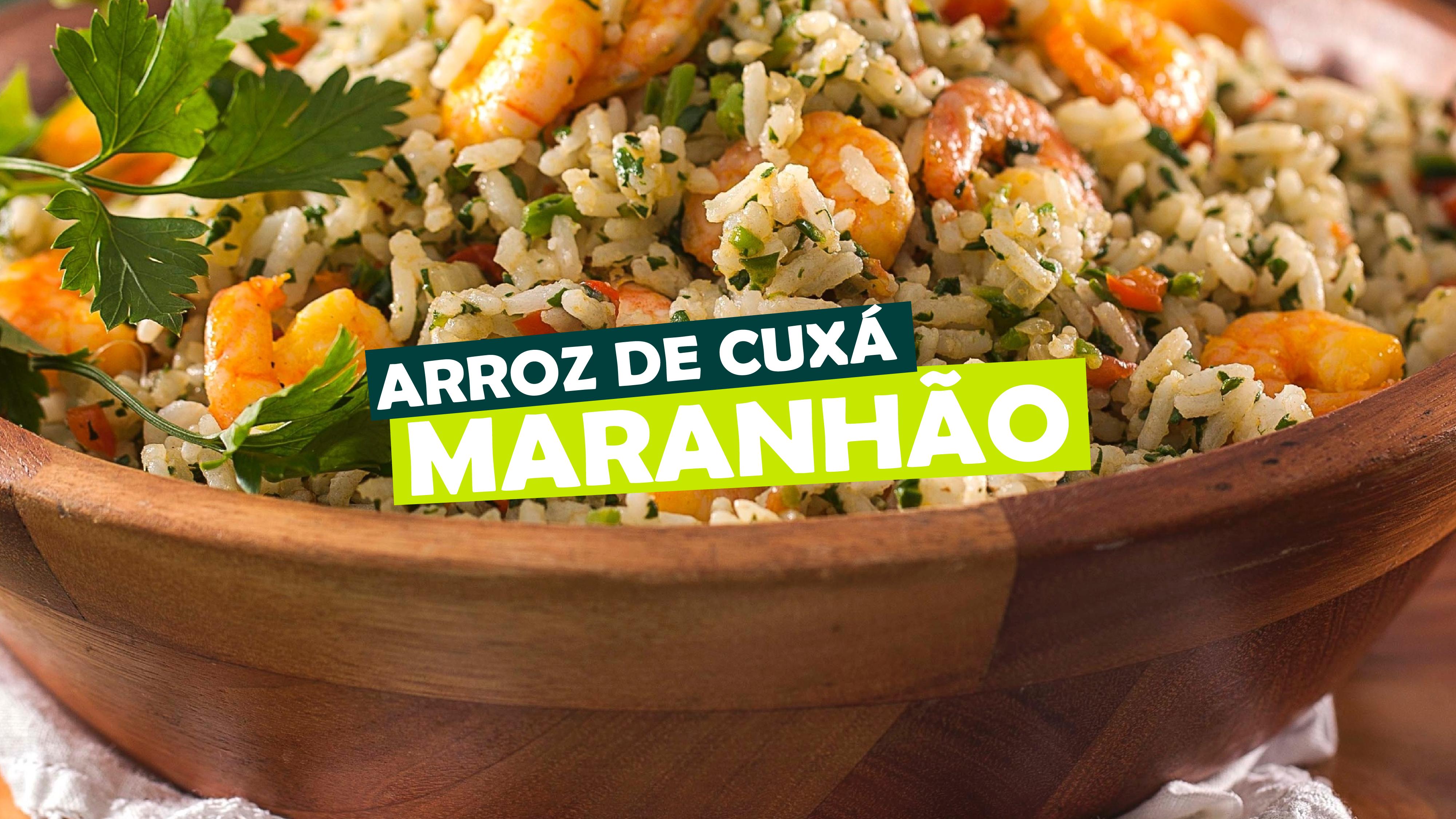 You are currently viewing Arroz de Cuxá – Maranhão