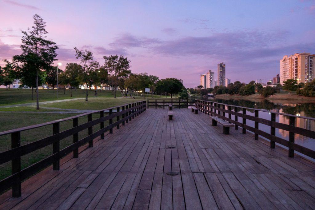 deck do parque ecológico