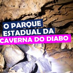 O parque Estadual da Caverna do Diabo