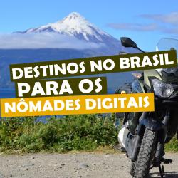 destinos no Brasil para os nômades digitais
