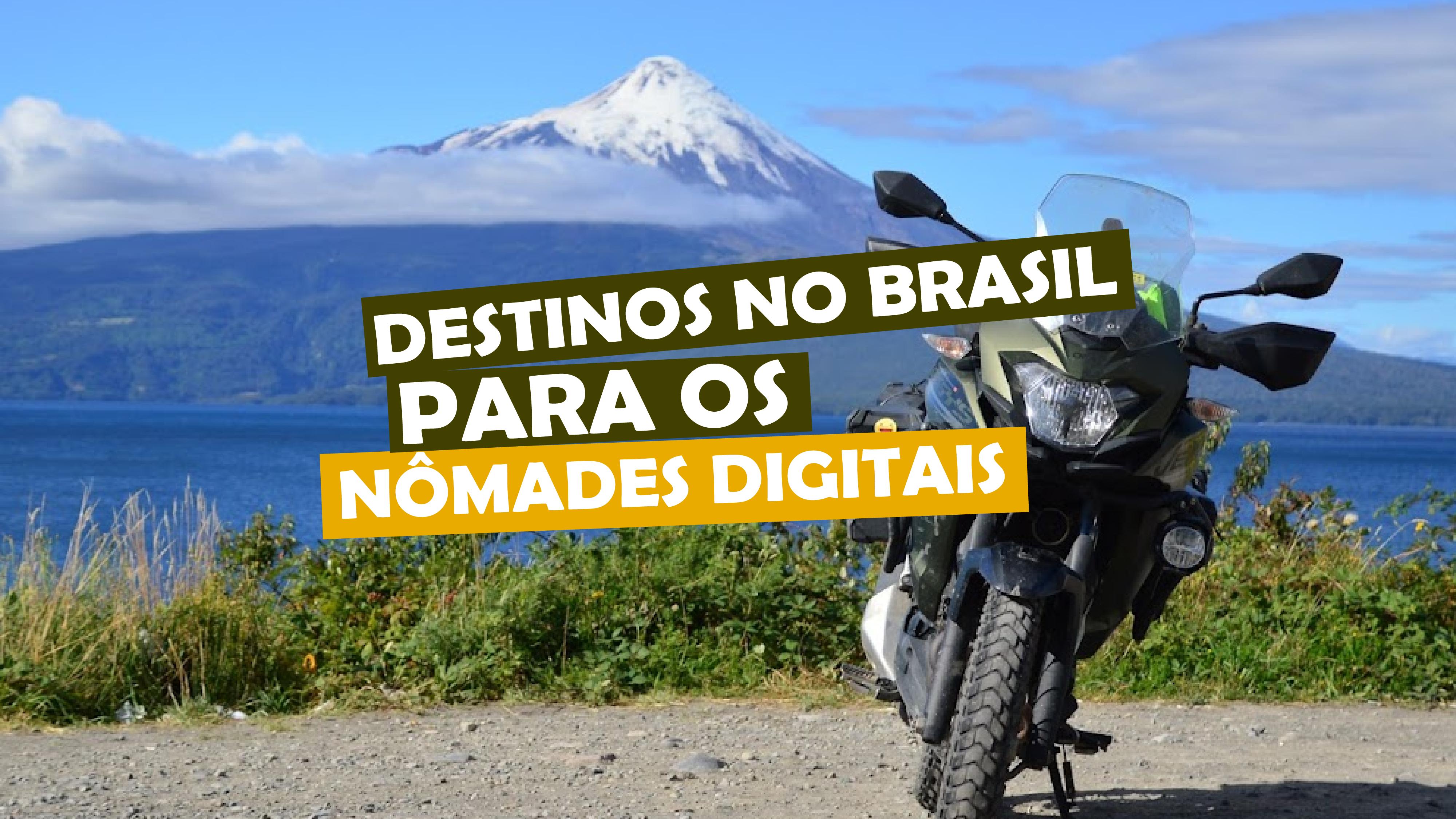 You are currently viewing destinos no Brasil para os nômades digitais